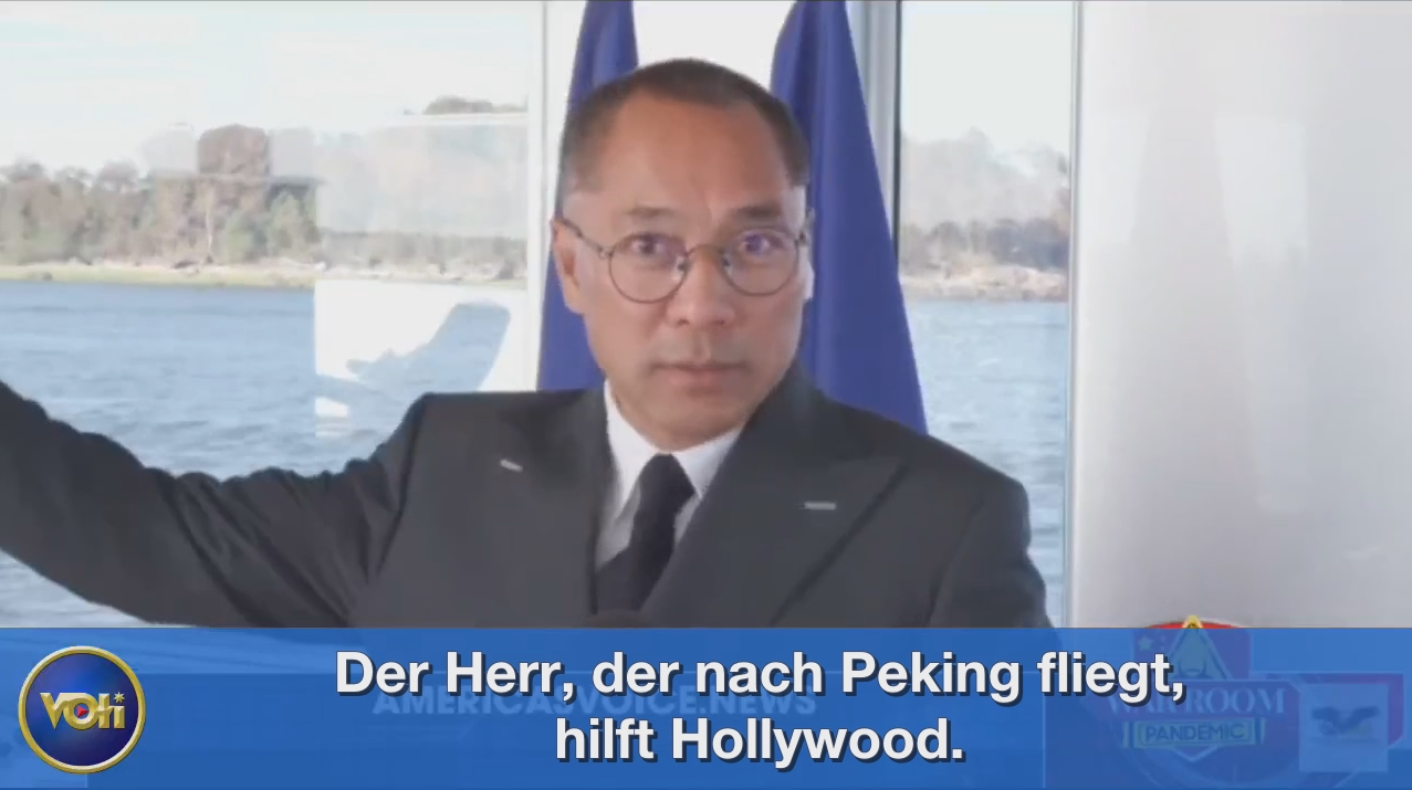 EP.373, Hollywood, also the media platforms, Facebook, Youtube, Twitter. Everyone is silent (German+English)