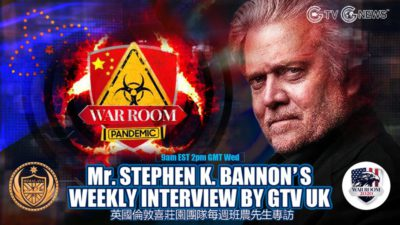 G-TV UK Weekly Interview With Mr. Bannon (3rd Mar, 2021)
