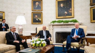 President Biden Urged Afghans To Take Control of Their Future Into Their Own Hand
