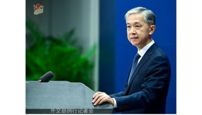[Commentary] China Foreign Ministry Responds to Covid-19 Pandemic Compensation and Boycott on Beijing Winter Olympics