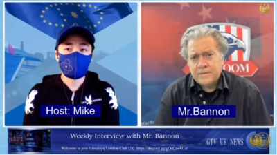 GTV UK Weekly Interview With Mr. Bannon (21st July 2021)