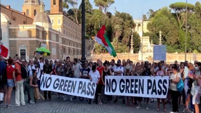Italy Enforces a Green Pass Scheme for All Practitioners
