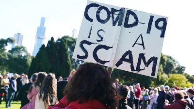 Melbourne police violently crack down anti-vaccine protest while similar protests are erupting around the world