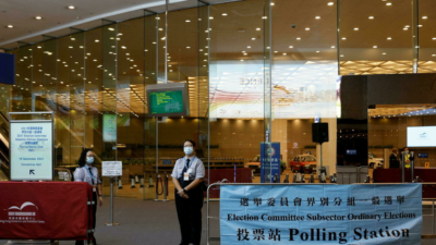 Registered voters in Hong Kong have dropped 97% from 250,000 to 7,000.