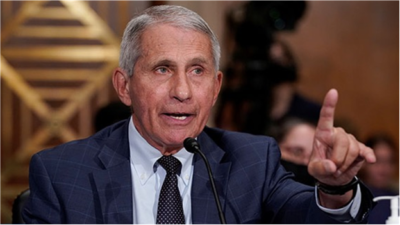 Fauci called Americans to get poisonous booster shots.