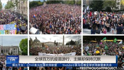 Millions of Anti-vaccine Marches Rround the World, Though the Mainstream Media Remains Silent