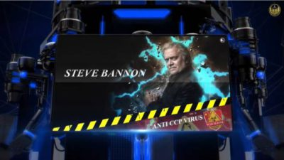 20th October 2021 GTV UK Weekly Interview with Mr. Bannon